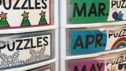 Math Puzzles | Math Centers, Games & Activities