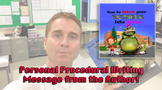 Procedural Writing: Author Personal Video to your Class