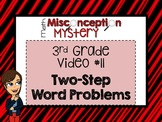 3rd Grade Math Mystery | #11: Two-Step Word Problems | DIS
