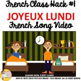 """1 French Class Transition Video """"Monday"""" for CI TCI TPRS a"""