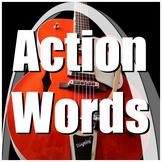 Receptive Language / Movement / Sensory Song - Action Words
