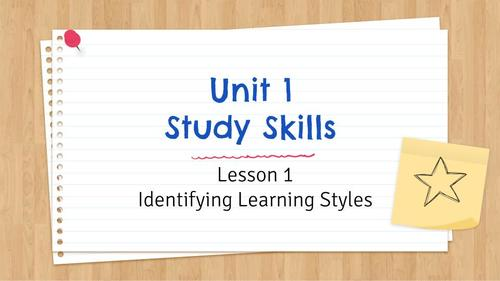 FREE PREVIEW VIDEO: Unit 1 Lesson 1: Identifying Your Learning Style