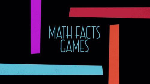 Math Facts Games