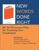 Teacher Vocabulary: Using Social Learning to Introduce New Words