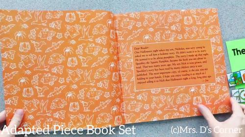 October Adapted Piece Book Set [ 12 book sets included! ]