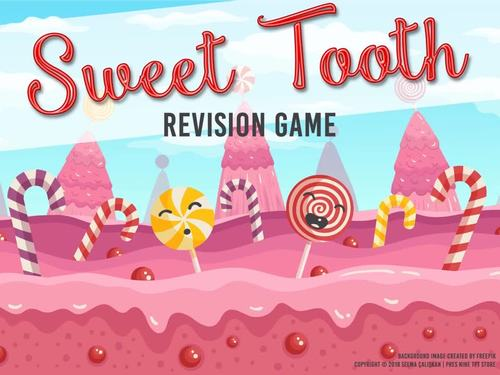 Sweet Tooth | A Candy Crush Inspired Revision Game