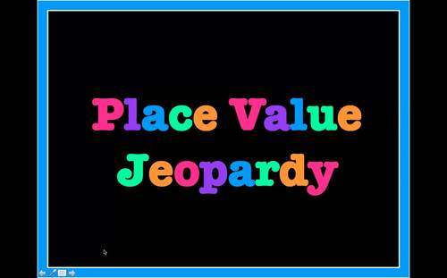 Place Value Jeopardy (Third Grade)