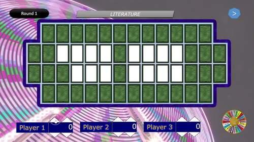 Wheel of Fun - Powerpoint game with scoreboard