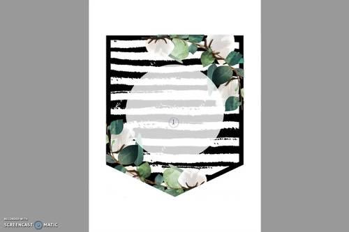 Eucalyptus Editable Banners - Farmhouse Decor