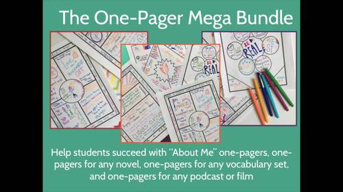One-Pagers Mega-Bundle