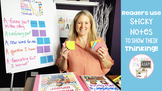 Readers Use Sticky Notes to Show Their Thinking