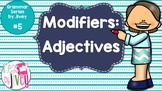 Adjectives - Grammar Series by Jivey #5 (Distance Learning)