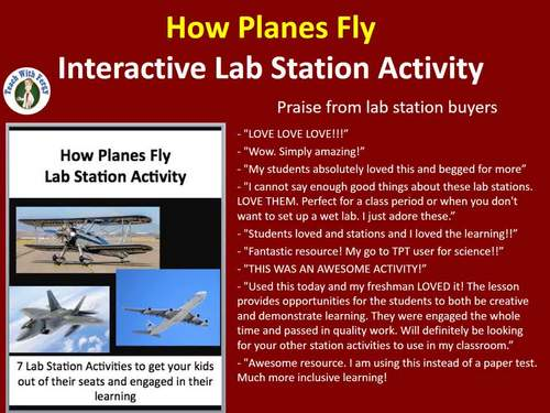 How Planes Fly - 7 Engaging Lab Stations