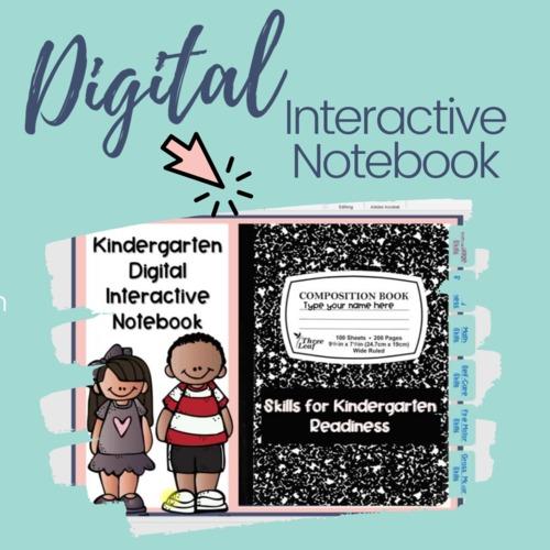 Skills For Kindergarten Readiness Interactive Notebook
