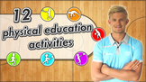 12 instant PE curriculum activities - Great for sport game