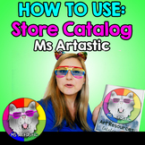 How to Use Ms Artastic's Store Catalog of Art Resources fo