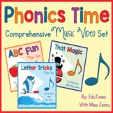 Phonics Time COMPLETE Set   Share With Parents for Distanc