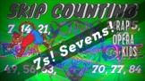 """""""DON'T SHOUT"""" Skip Counting by 7s Rap Song - The Math Anim"""