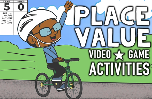Place Value Worksheets, Game & Animated Video ♫ Ones, Tens, Hundreds, Thousands