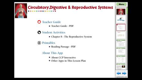 The Reproductive System - NOTEBOOK Gr. 3-8