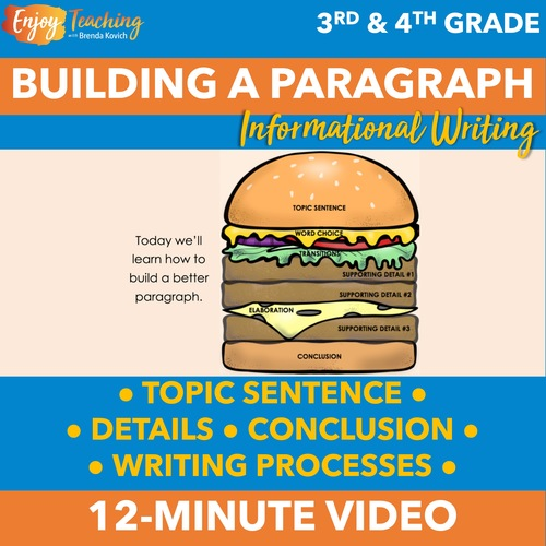 How to Write a Paragraph Video - Streaming and Unlisted YouTube Link