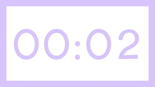 30 PASTEL Video Countdown Timers - For PowerPoint, Google Slides, Keynote