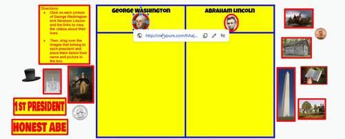 Presidents' Day Fun (Kindergarten and 1st Grade Digital Activity)