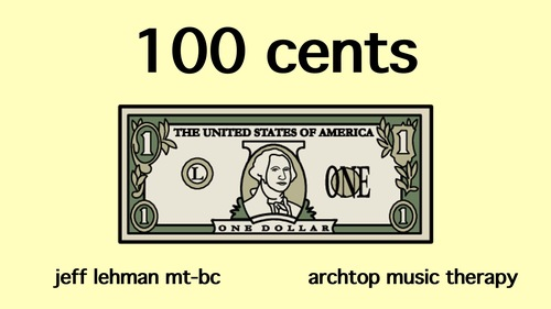 Dollar/Cent Conversion Song & Video - 100 Cents