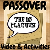 Bible Study and Passover The Ten Plagues Video & Activities!