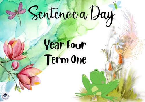 Sentence a Day Year Four Term 1