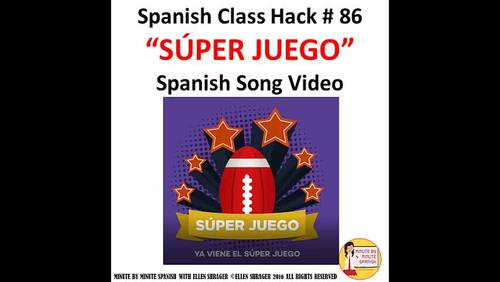 2020 Súper Juego Spanish Class song of the week American Football Playoffs