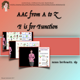 AAC Tips from A to Z  F is for Function
