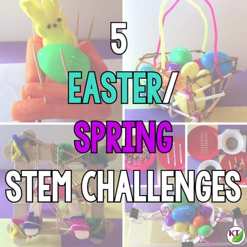 Easter STEM Challenge Bundle