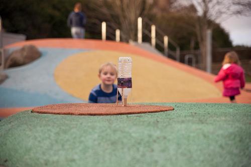 Water Bottle Rocket - science, art & engineering= flight!  video & lesson plan