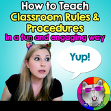 How to Teach Classroom Routines and Procedures in a fun an