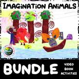 "Kids Stories BUNDLE - ""Imagination Animals"" - Video, Book"