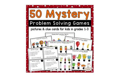 Mystery problem solving activities for grades 1-3
