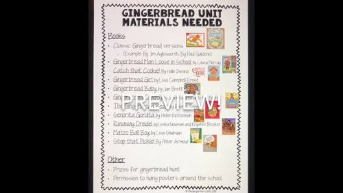 Gingerbread Week!