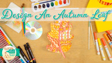 First Day of Fall: Autumn Leaf Art Project, Roll-A-Dice Ga
