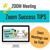 Zoom Meeting Success Tips