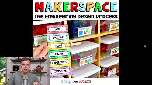 Engineering Design Process Posters and Mini Clip Chart