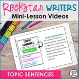 Topic Sentences and Indents Video- Downloadable | Distance