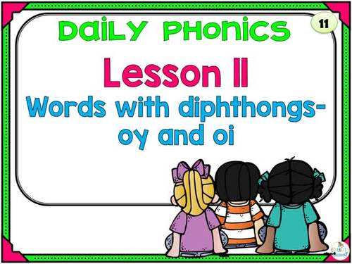 Phonics Daily PowerPoint for Third Grade,  Unit 3