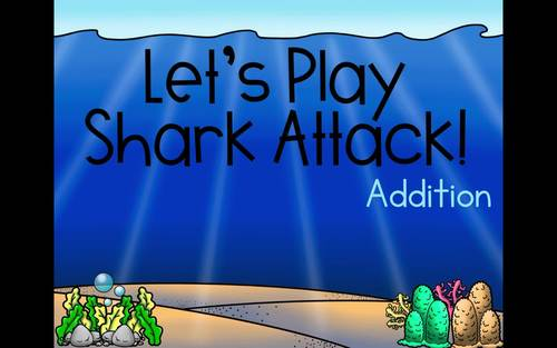 Shark Attack: 10 More 10 Less