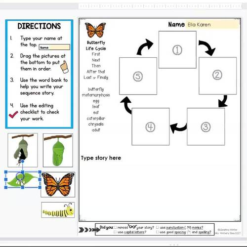 Story Retell and Sequence Writing Prompts BUNDLE - Distance Learning