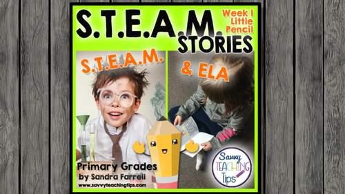 STEAM STORIES BUNDLE, STEM and ELA,  April Holidays