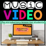 Tempo: Fast And Slow Video (Great For Music On A Cart & Mu