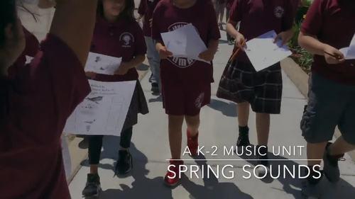 Spring Music Unit