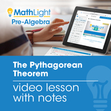The Pythagorean Theorem Instructional Video  | Good for Di