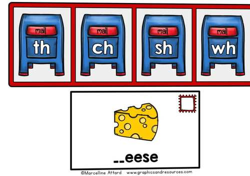 BOOM CARDS DISTANCE LEARNING KINDERGARTEN PHONICS REVIEW CONSONANT DIGRAPHS GAME
